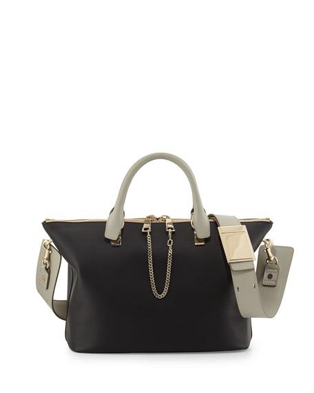 Baylee Shoulder Bag, Black/Gray