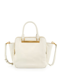 MARC by Marc Jacobs Goodbye Columbus Leather Tote Bag, Lily Flower