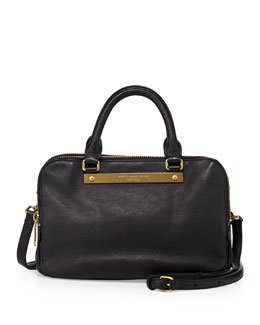 MARC by Marc Jacobs Goodbye Columbus Sylvie Satchel Bag, Black