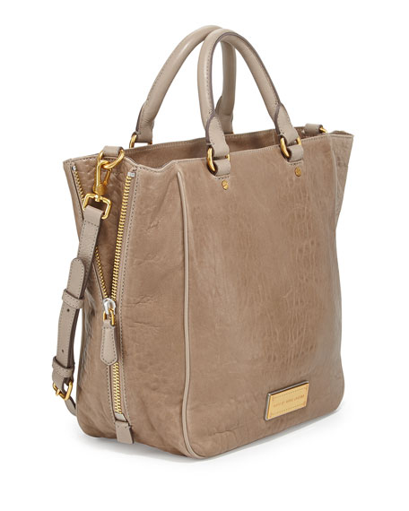 e9c36b3ff7e MARC by Marc Jacobs Washed Up Leather Tote Bag, Cement