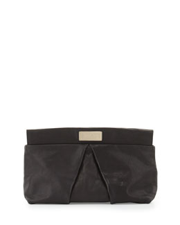 MARC by Marc Jacobs MARChive Leather Clutch Bag, Black