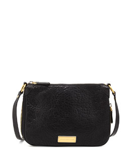 MARC by Marc Jacobs Washed Up Zip Crossbody Bag, Black