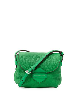 MARC by Marc Jacobs Half Pipe Pebbled Crossbody Bag, Fresh Grass