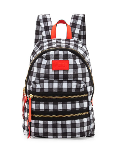 MARC by Marc Jacobs Domo Arigato Packrat Backpack, Black/Multi