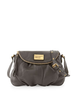 MARC by Marc Jacobs Classic Q Natasha Crossbody Bag, Faded Aluminum