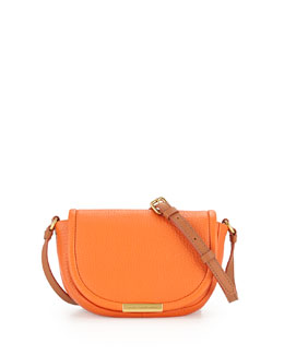 MARC by Marc Jacobs Softy Saddle Crossbody Bag, Spiced Orange