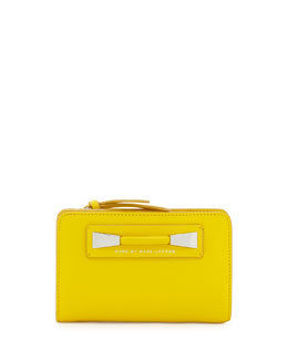 MARC by Marc Jacobs Femme Fatale Lauren Wallet, Grapefruit Zest
