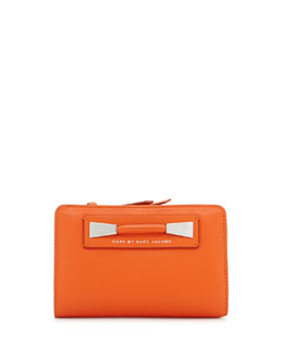 MARC by Marc Jacobs Femme Fatale Lauren Wallet, Spiced Orange
