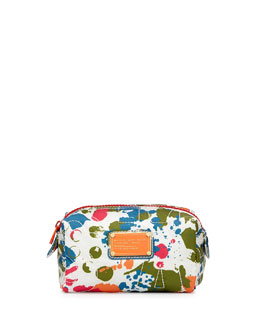 MARC by Marc Jacobs Pretty Nylon Splatter Cosmetic Case