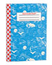 Doodle Dots Notebook iPad Air Case, Spring Sky Blue
