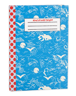 MARC by Marc Jacobs Doodle Dots Notebook iPad Air Case, Spring Sky Blue