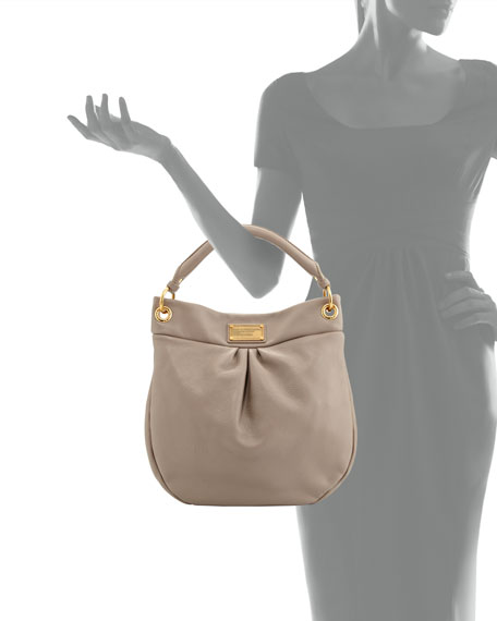 Classic Q Hillier Hobo Bag, Cement