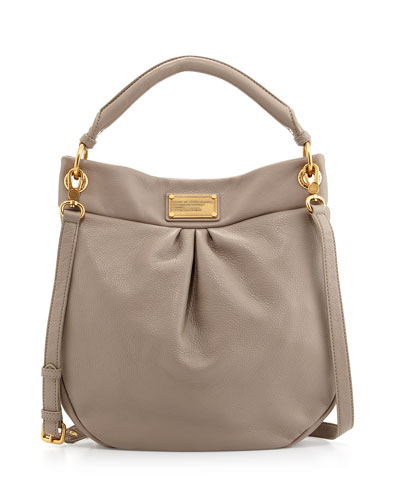 MARC by Marc Jacobs Classic Q Hillier Hobo Bag, Cement