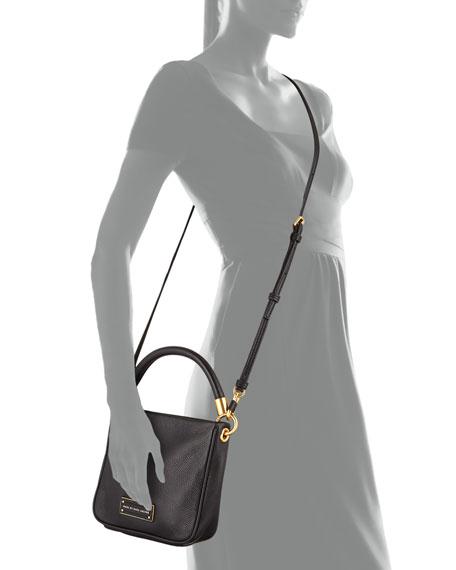 Too Hot to Handle Mini Crossbody Bag, Black