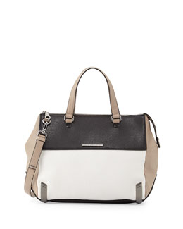 MARC by Marc Jacobs Shelter Island Colorblock Leather Satchel Bag