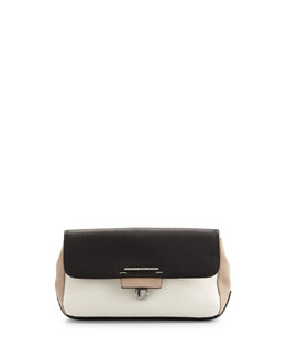 MARC by Marc Jacobs Shelter Island Tricolor Clutch Bag