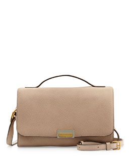 MARC by Marc Jacobs In the Grain Nahee Leather Satchel Bag, Tracker Tan