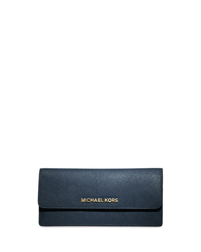 Jet Set Travel Flat Wallet