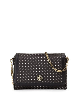 Tory Burch Kerrington Dotted Crossbody Bag, Viva Dot Mini