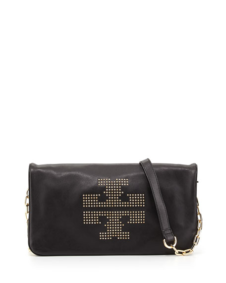 Reva Studded Crossbody Bag, Black
