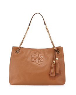 Tory Burch Thea Large Chain Tote Bag, Bark