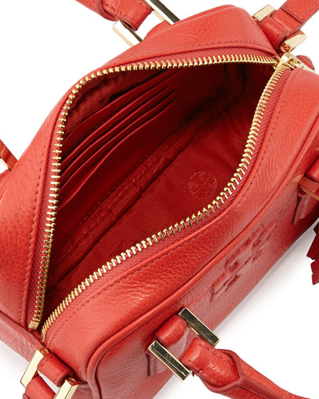 Thea Mini Crossbody Satchel Bag, Jasper