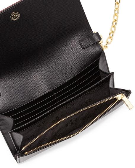 Robinson Stripe Wallet-on-Chain, Black