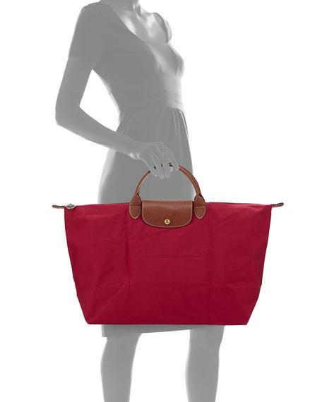 Le Pliage Large Travel Tote Bag, Hydrangea