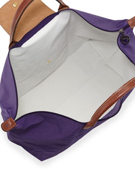 Le Pliage Large Travel Tote Bag, Amethyst