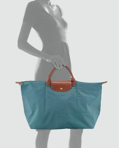 Le Pliage Travel Tote Bag, Mint
