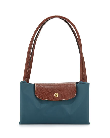 85a4c72dfb Longchamp Le Pliage Large Shoulder Tote Bag, Mint