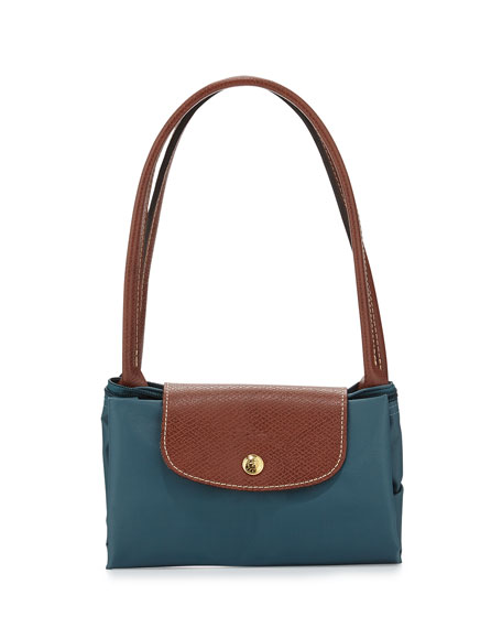 Le Pliage Medium Shoulder Tote Bag, Mint