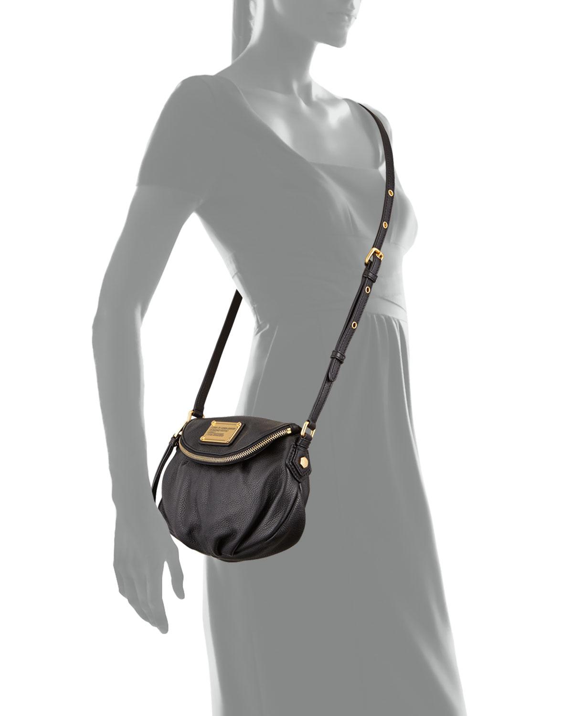 Marc By Jacobs Classic Q Natasha Mini Crossbody Bag Black Neiman Marcus