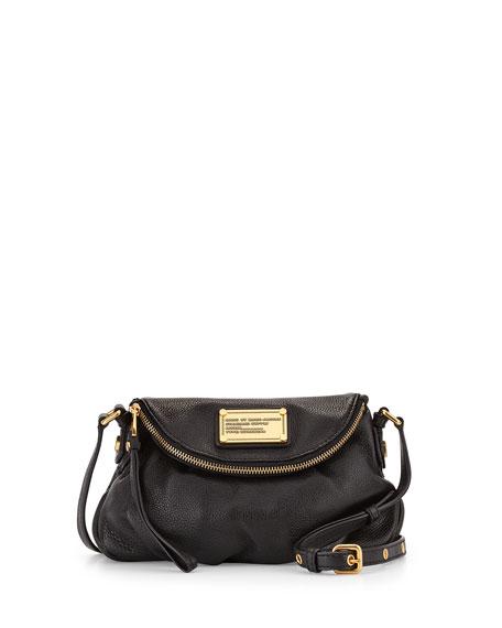 Classic Q Natasha Mini Crossbody Bag, Black