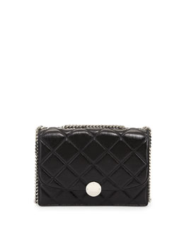 Marc Jacobs Quilted Trouble Shoulder Bag, Black