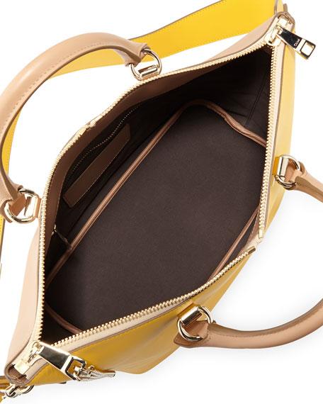 Baylee Shoulder Bag, Beige/Yellow