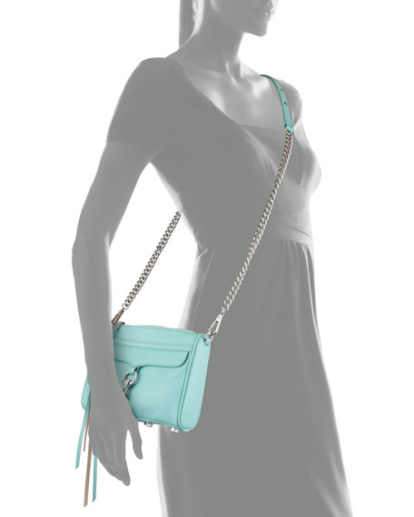 Mini MAC Crossbody Bag, Minty