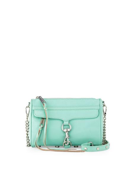 Mini MAC Crossbody Bag, Minty