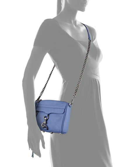 Mini MAC Crossbody Bag, Twilight Sky