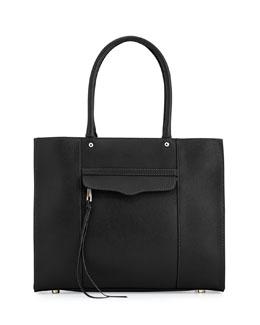 Rebecca Minkoff MAB Leather Tote Bag, Black