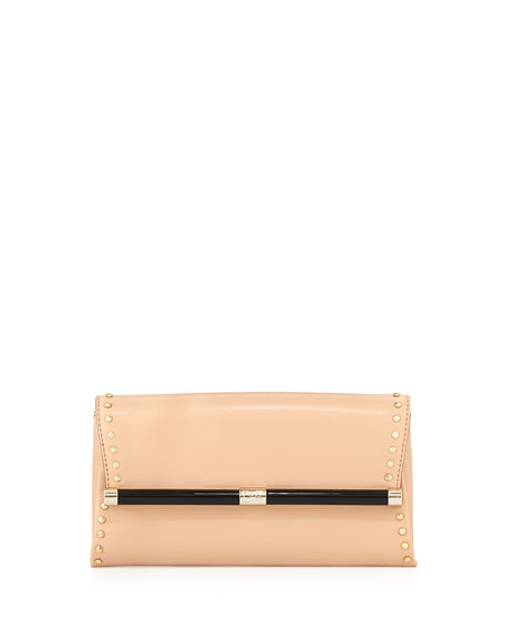 Diane von Furstenberg 440 Studded Envelope Clutch Bag, Vachetta