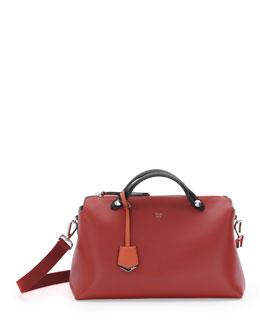 Fendi By The Way Medium Tricolor Satchel Bag