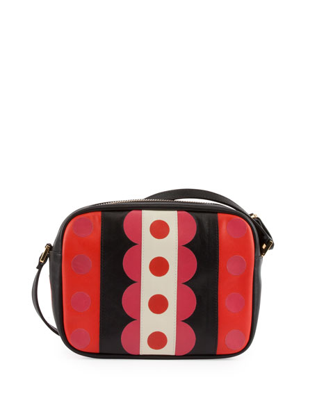 Carmen Mini Calfskin Crossbody Bag