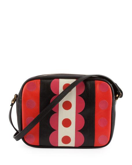 Carmen Mini Calfskin Crossbody Bag