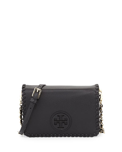 Tory Burch Marion Combo Crossbody Bag, Black