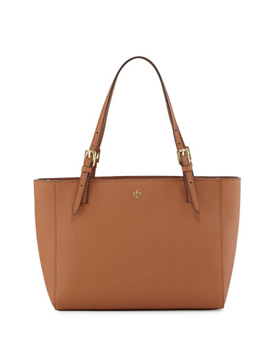 Tory Burch	 York Small Saffiano Tote Bag