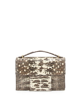 Tom Ford Small Hidden-TF Lizard Crossbody Bag
