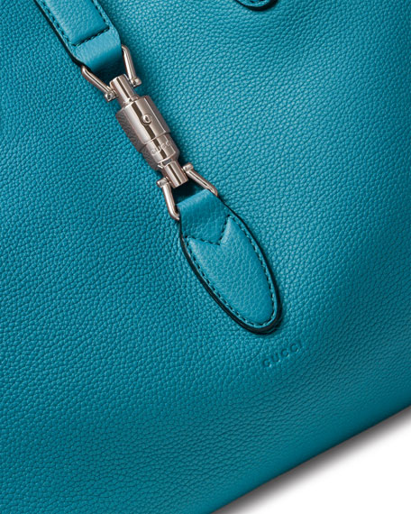 975234f7b8 Gucci Jackie Soft Leather Top Handle Bag