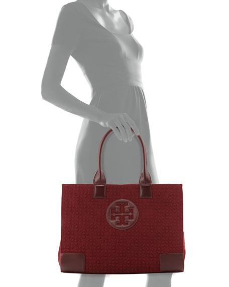 Ella Damask Tote Bag, Deep Berry
