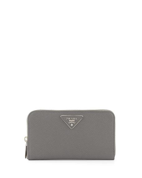 prada wallet white